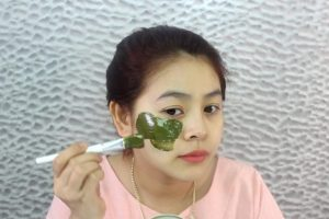 Cách làm mặt nạ bột chùm ngây chống lão hóa